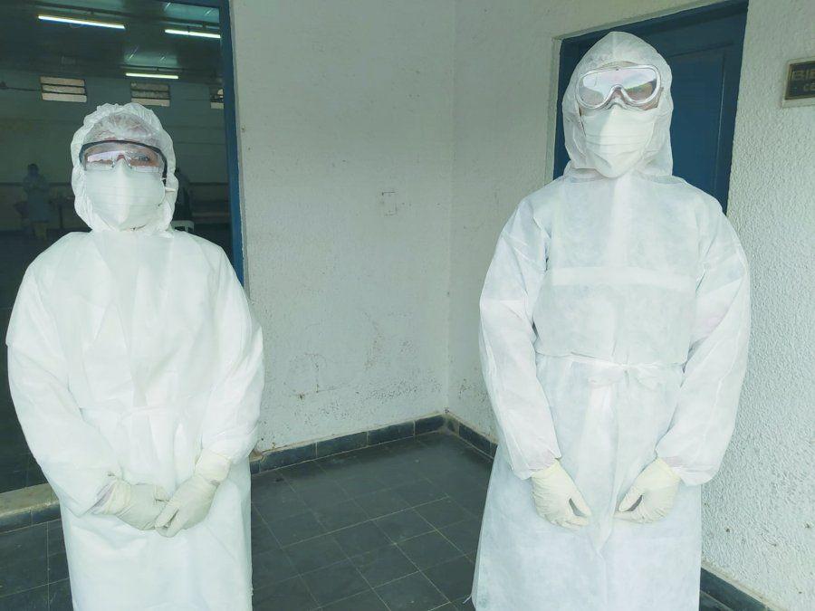 El nuevo puesto de testeos realizó 39 hisopados en su primer día