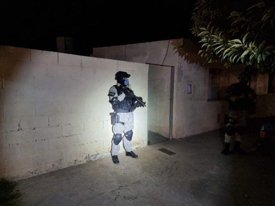 El dispositivo estuvo compuesto de un allanamiento en barrio Villa Revol (Ciudad de Córdoba) y otros tres ubicados en calle San Luis al 100