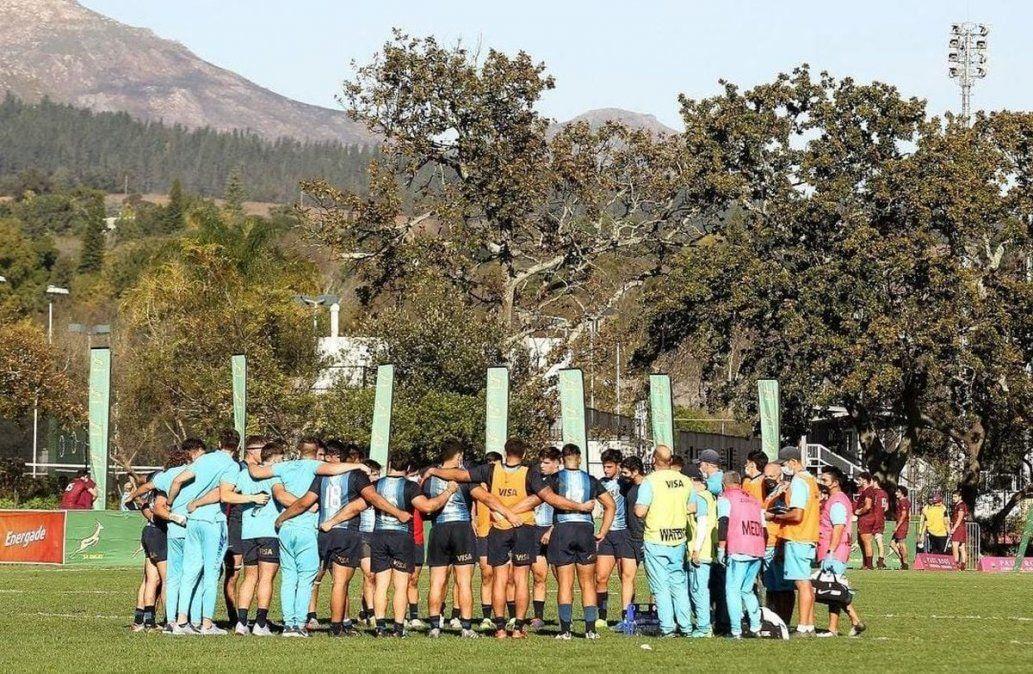 Ultimo entrenamiento. El equipo argentino va por una nueva victoria.