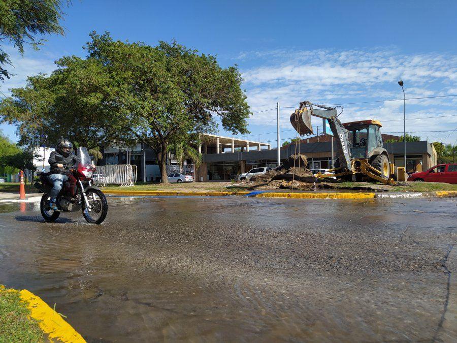 Baja presión de agua en tres barrios de la ciudad