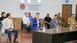 La puesta en marcha fue encabezada por el Vicegobernador de la provincia de Córdoba, Manuel Calvo; junto al ministro de Salud de la provincia, Diego Cardozo. Participó el intendente Juan Manuel Llamosas.