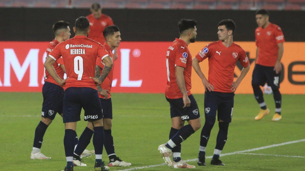Independiente quedó afuera de la Sudamericana