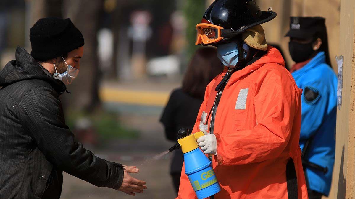 En Argentina se confirmaron otros 10.652 casos positivos de coronavirus.