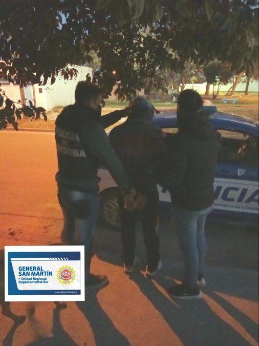Un detenido por robo con arma de fuego