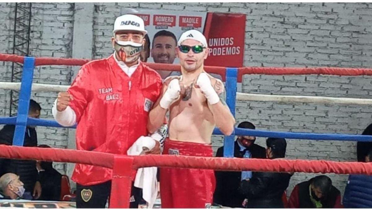 El villamariense Lucas Báez ganó en Salta: Hice una buena pelea y gané ampliamente