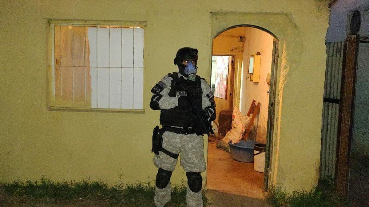 Laboulaye: dos detenidos por vender droga en tres puntos de la ciudad
