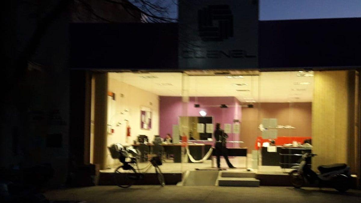 El asalto ocurrió en las oficinas de Clenel