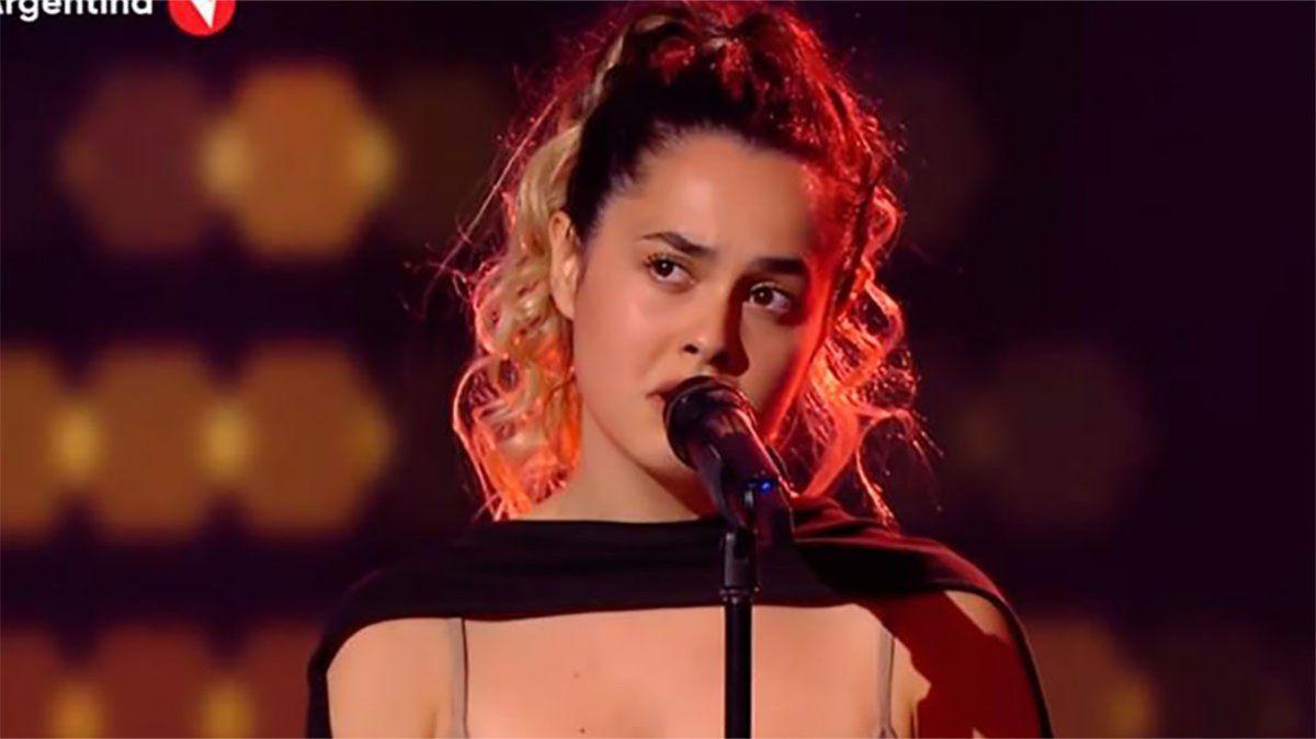 Una porteña dejó sin palabras al jurado con una canción de Camila Cabello