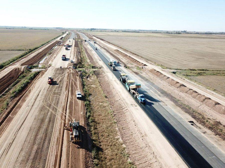 Obras viales que comienzan a reactivarse en la provincia desde la Nación