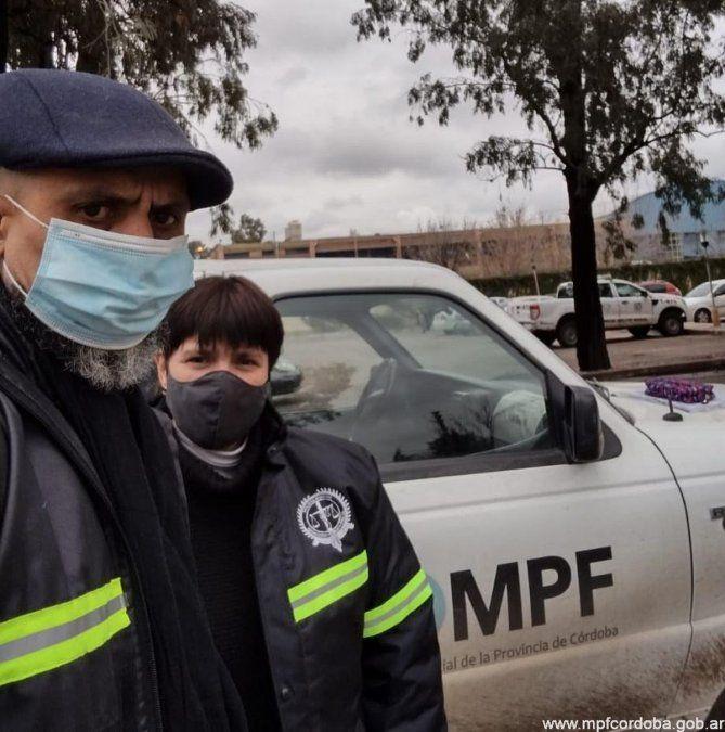 Personal del Ministerio Público Fiscal de Córdoba se sumó a la búsqueda de Guadalupe