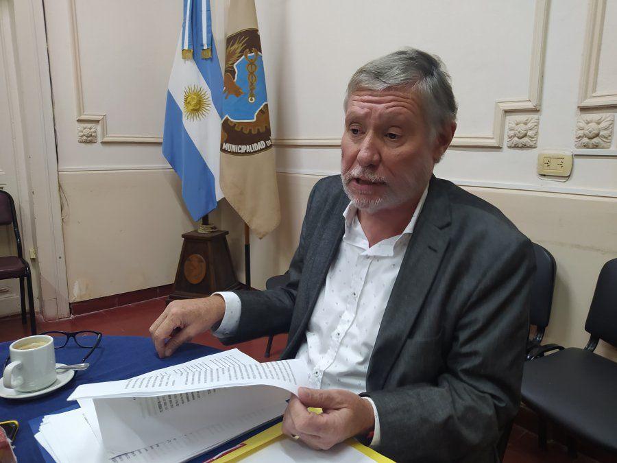 El presidente del Concejo Deliberante brindó una conferencia de prensa en la que rechazó el pedido de revocatoria de la oposición.