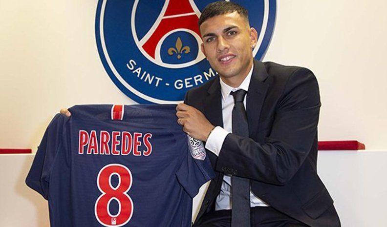 Paredes es nuevo jugador del PSG