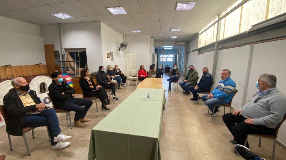 El encuentro estuvo encabezado por el precandidato a senador por el partido Hacemos por Córdoba