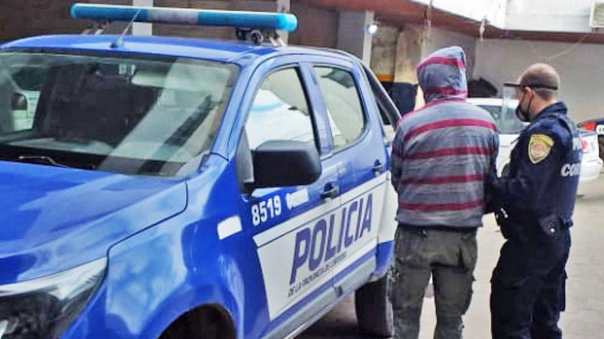 El detenido fue trasladado desde Villa María a la capital provincial.