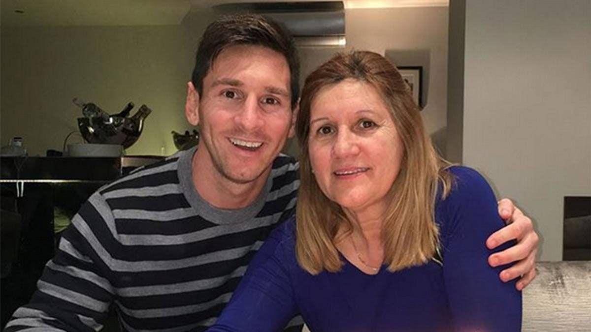 Lionel Messi y su mamá Celia (Foto: As)