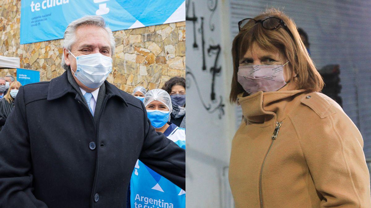 Alberto Fernández demandará en la Justicia civil a Patricia Bullrich.