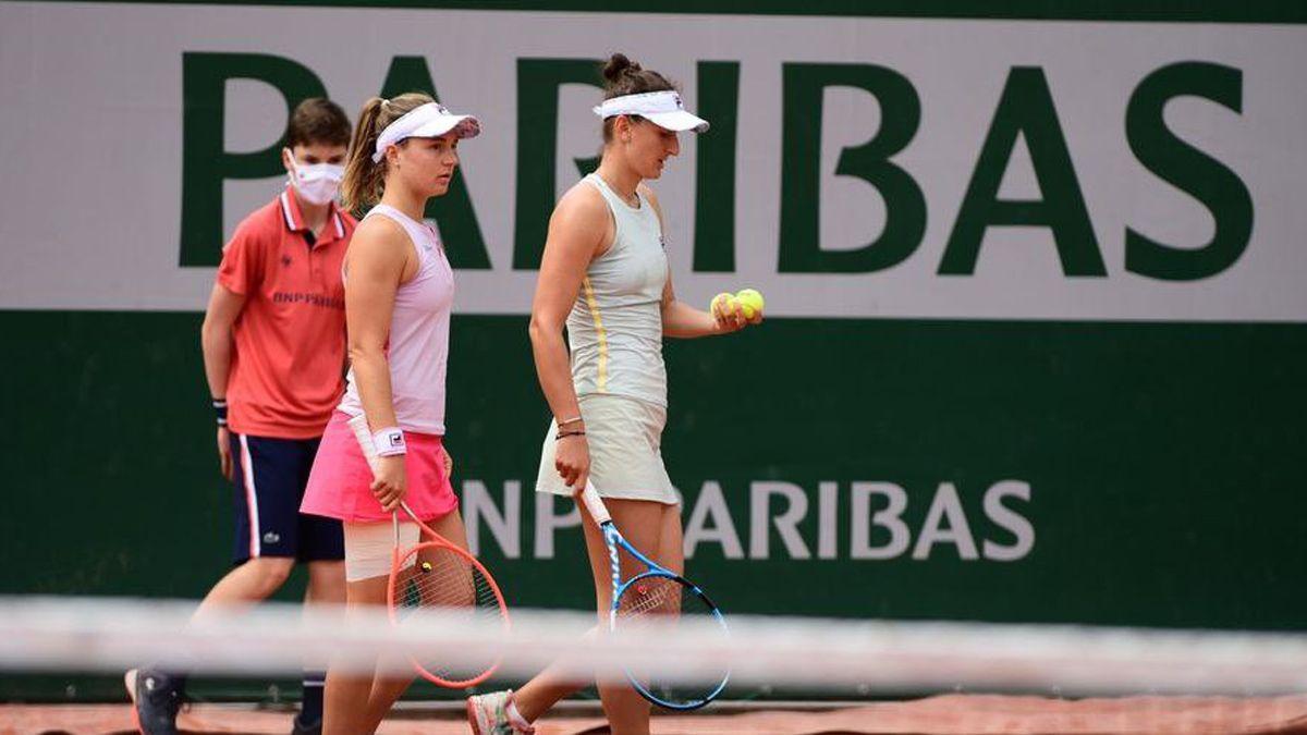 Podoska no pudo llegar a la final en el dobles