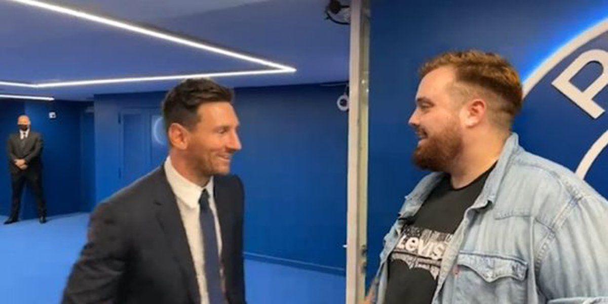 Messi habló con el streamer Ibai Llanos