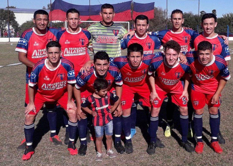 El equipo de San Lorenzo de Las Perdices. Es el actual subcampeón de la Liga Villamariense.
