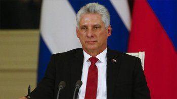 Díaz-Canel repudió las declaraciones de la UE sobre Cuba
