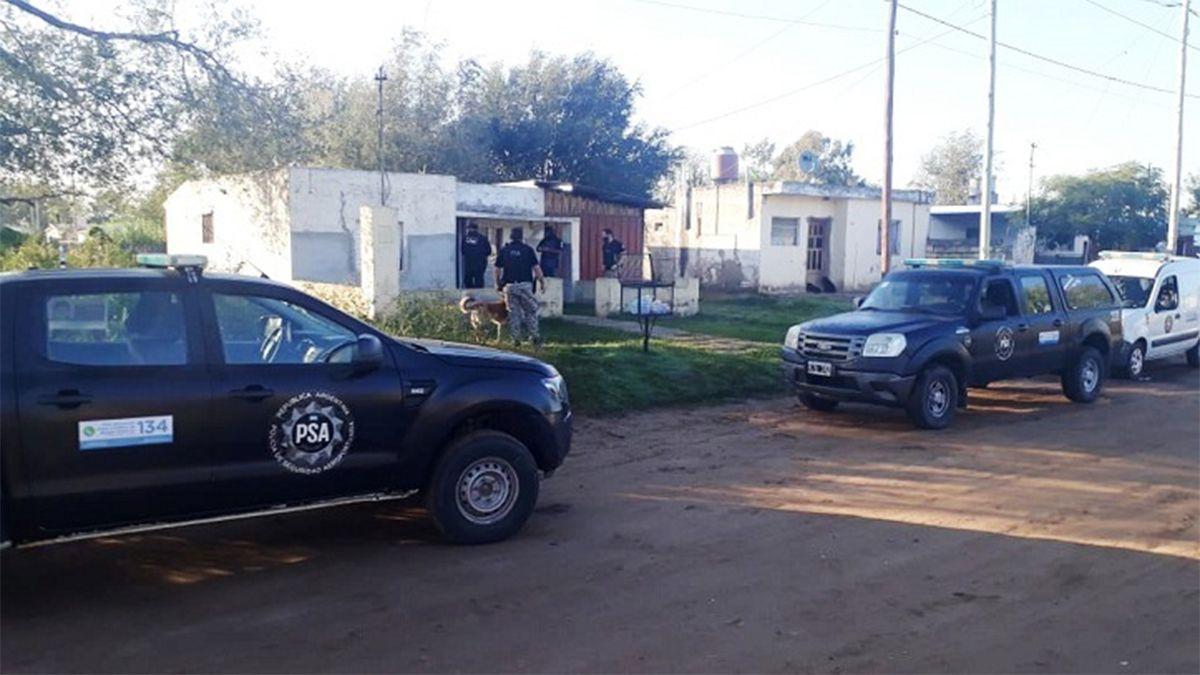 La PSA realizó 14 allanamientos en distintas localidades de la provincia.