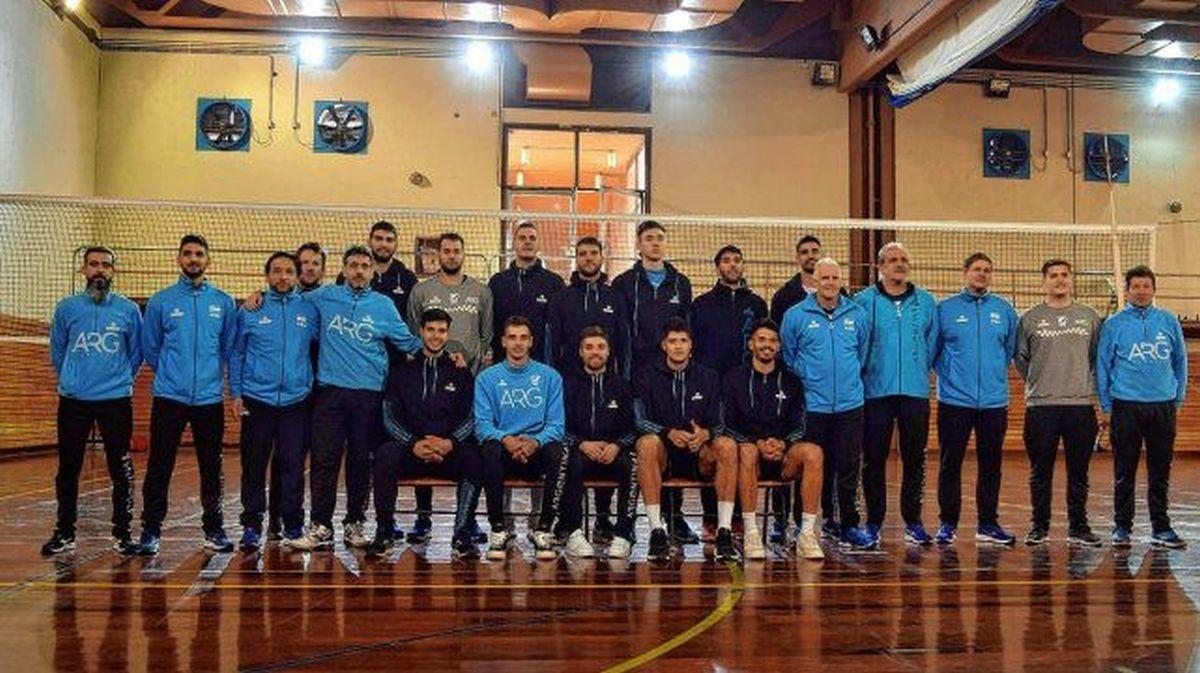 El plantel argentino que viajará el 30 de agosto para disputar el campeonato sudamericano en Brasil. Hay 7 medallistas olímpicos.