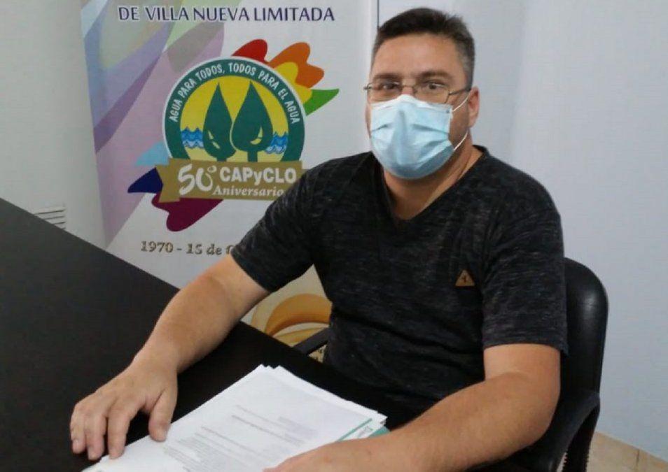 La cooperativa Capyclo cambió de autoridades y celebra el Día del Agua