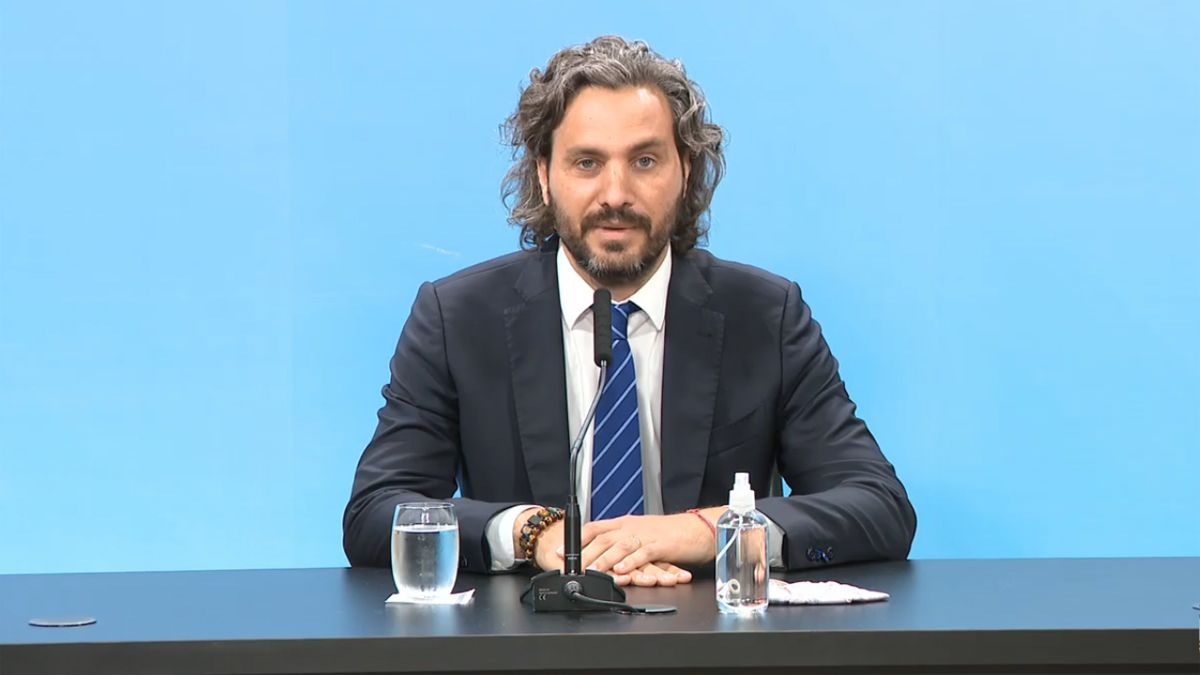 Santiago Cafiero dio negativo para coronavirus.