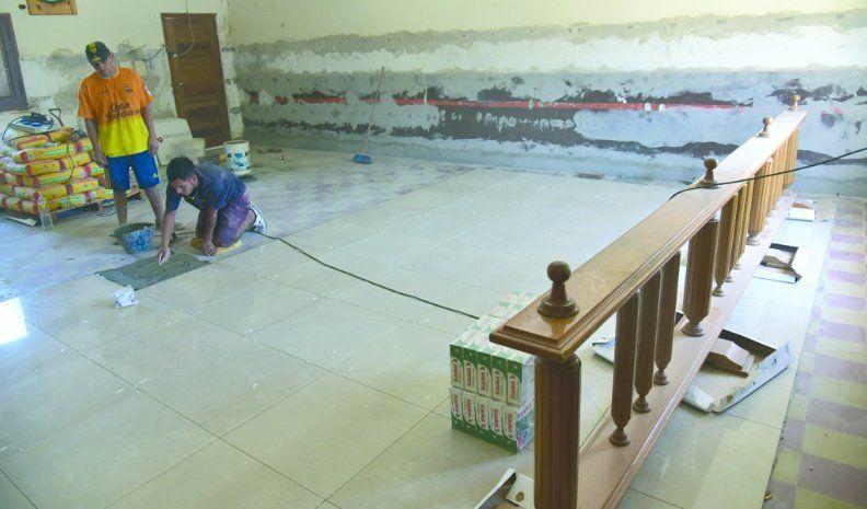 Iniciaron obras para remodelar y poner en valor la sede legislativa