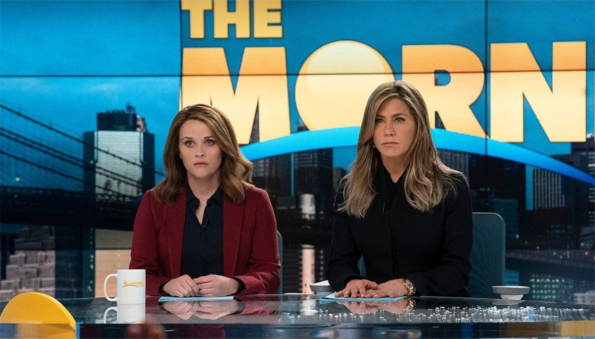 Jennifer Aniston y Reese Witherspoon protagonizan The Morning Show (Foto: No Submarines)
