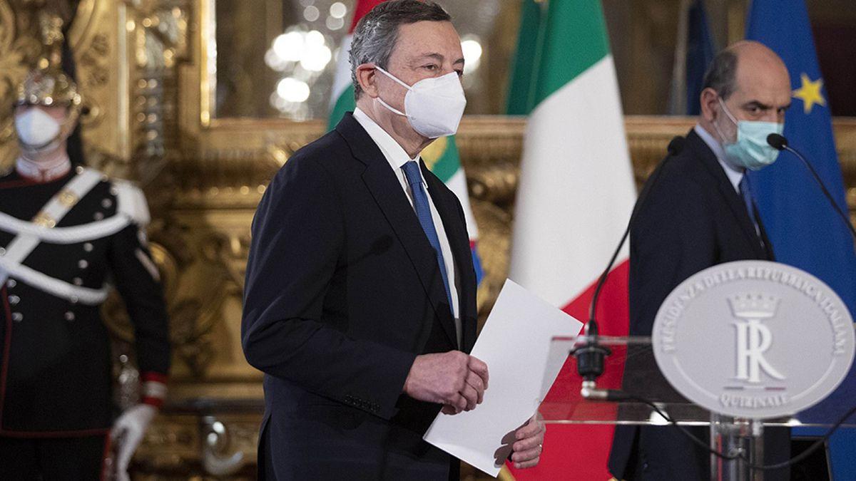 Tras obtener el apoyo de casi todos los partidos, Mario Draghi será primer ministro italiano