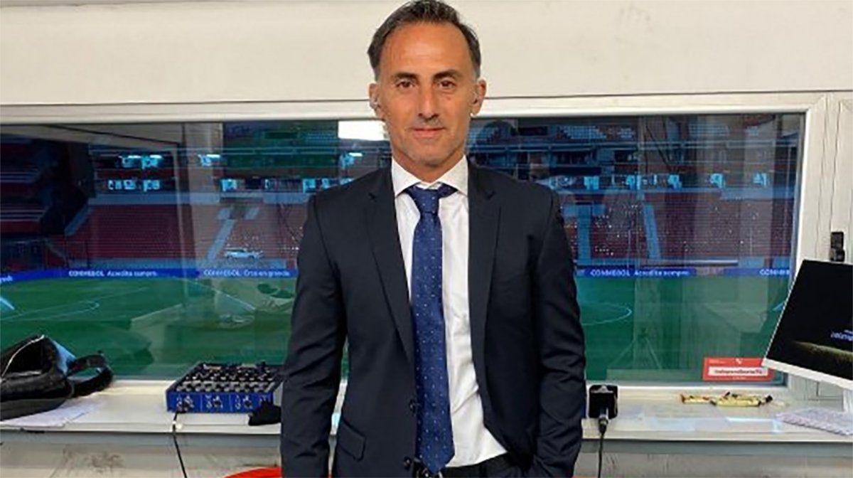 Diego Latorre se complicó y fue hospitalizado