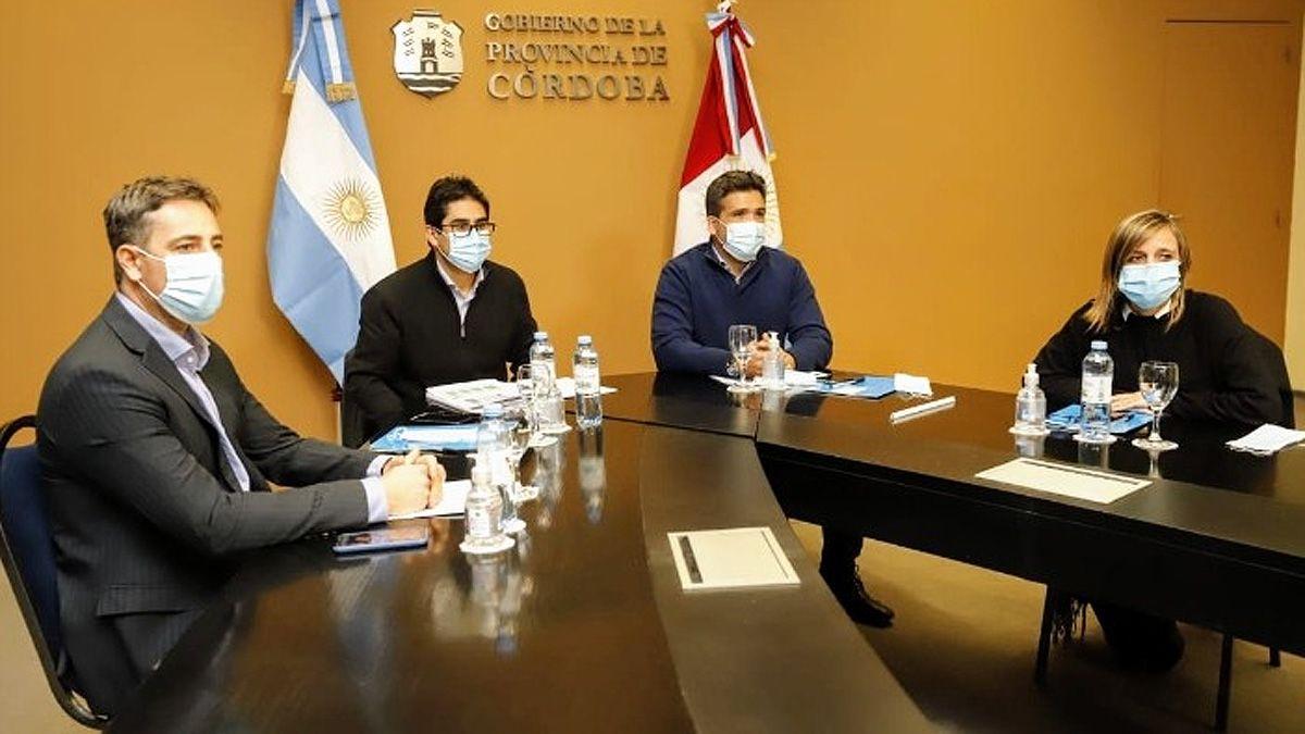 La reunión de la Provincia con los municipios que fue adelantada.