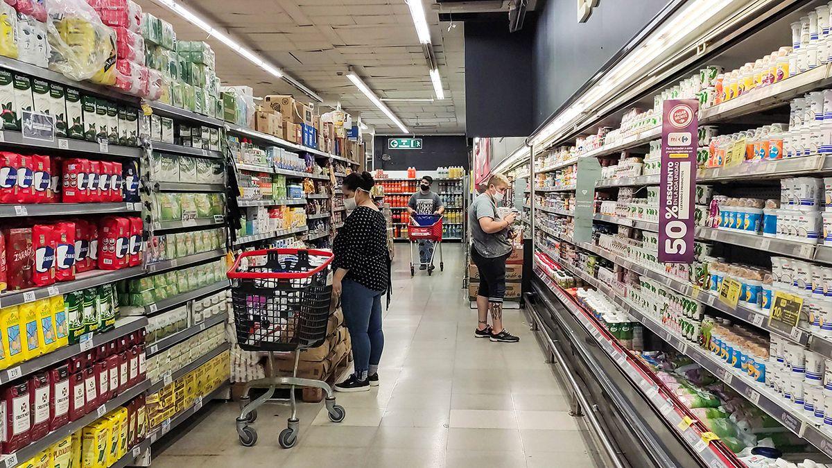 Las ventas en supermercados subieron en enero 3,8% respecto a igual mes del año pasado