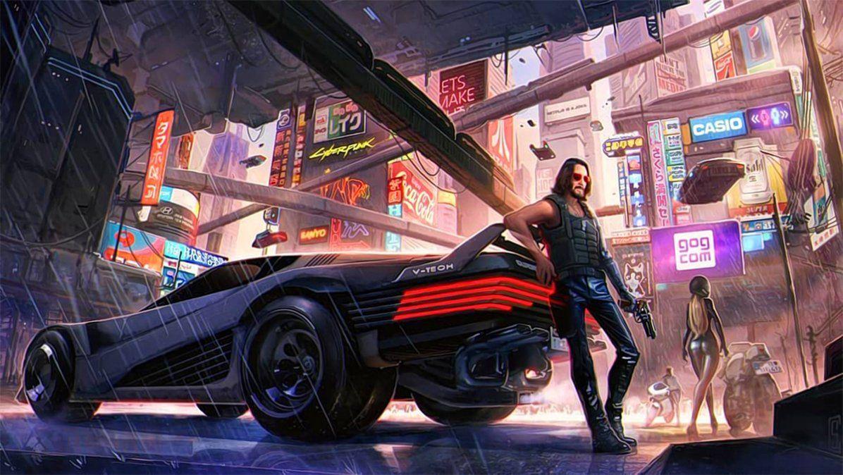 Keanu Reeves enCyberpunk 2077
