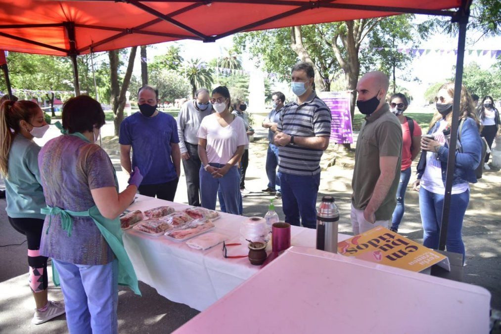 Con protocolos de bioseguridad, regresó la Feria Franca