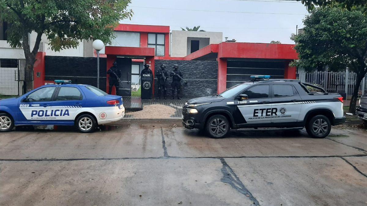Los allanamientos se realizaron en General Deheza y General Cabrera.
