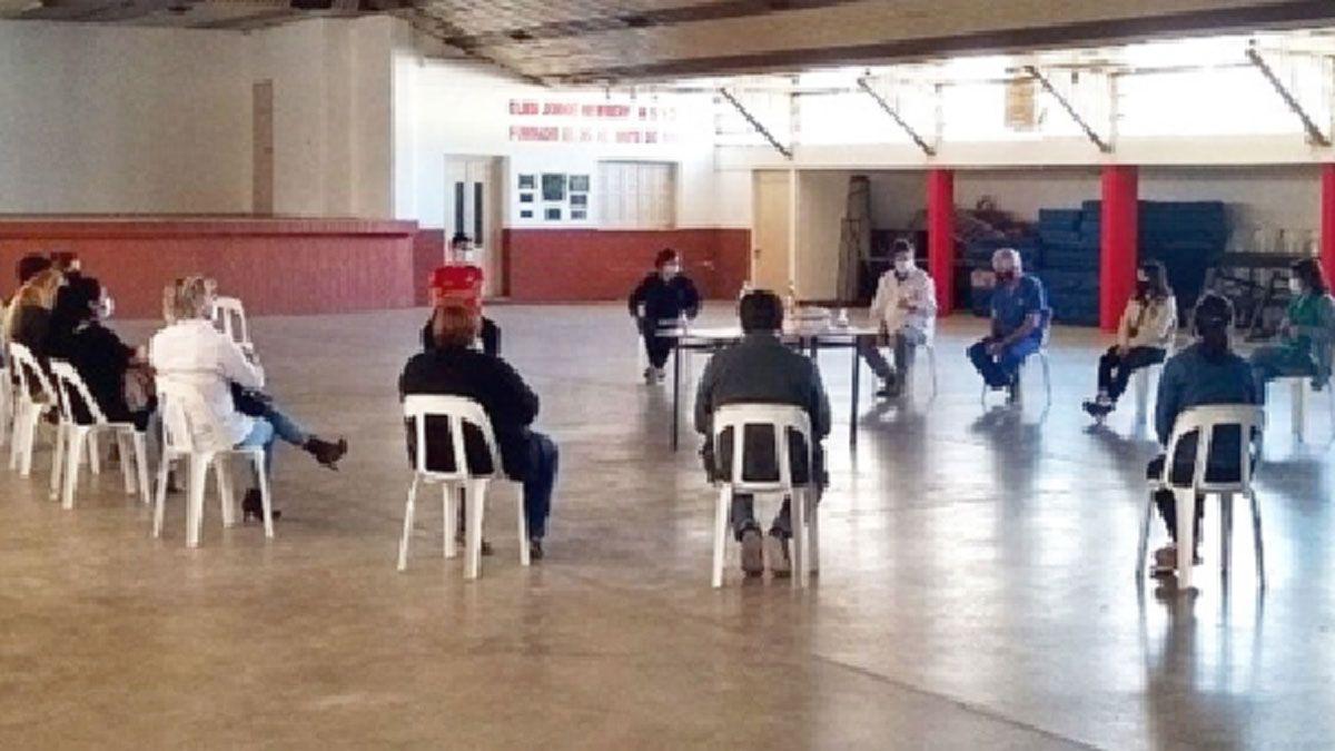 La reunión de capacitación se realizó en instalaciones del Club Newbery.