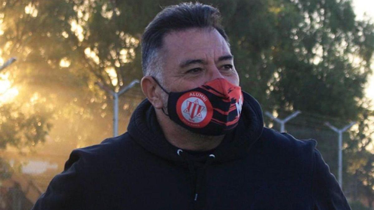 Marcelo Santoni fue sancionado con 45 días luego de la expulsión ante Alem.