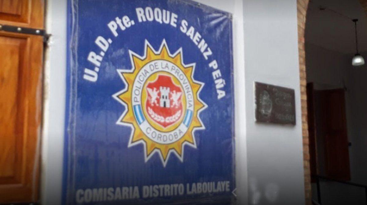 El caso es investigado por la comisaría de Laboulaye.