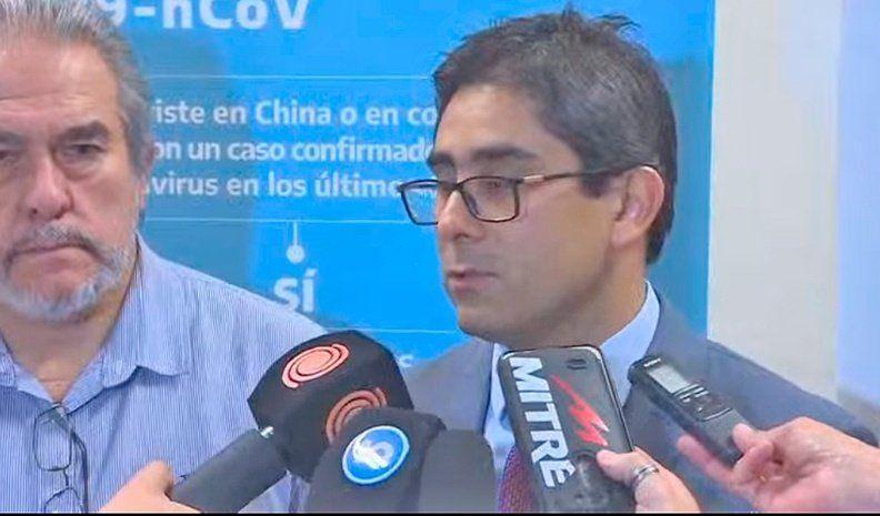 Vacunas Covid: agentes de Salud del Municipio  se reunieron con el ministro Diego Cardozo