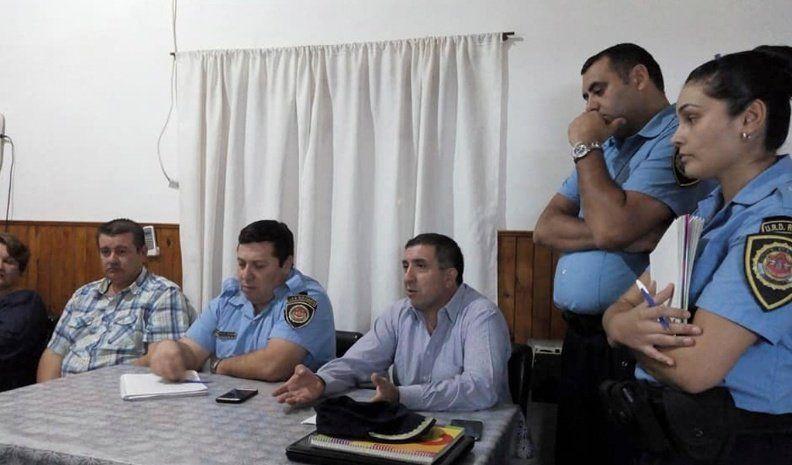 Inseguridad en Elena: Vecinos se reunieron con la Policía