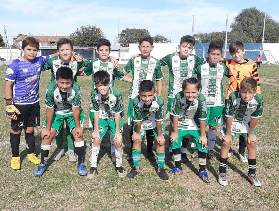"""La novena división (clase 2009) de Rivadavia. Mañana visitará a Alem en """"La Leonera""""."""