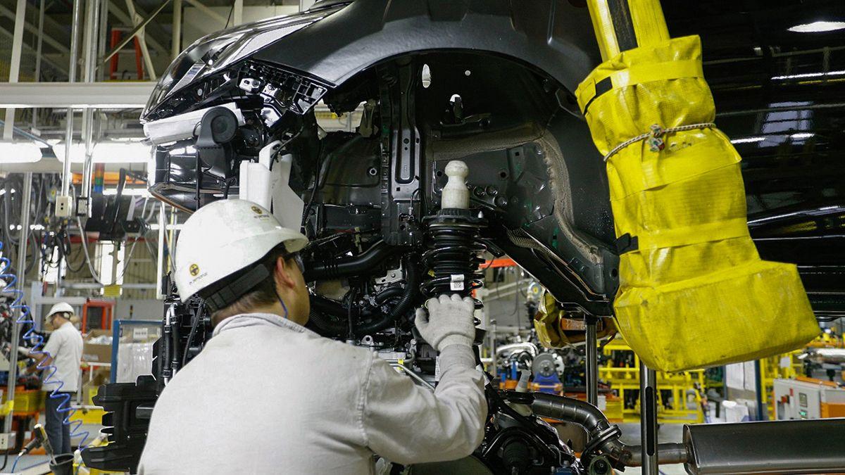 El uso de la capacidad instalada de la industria fue de 56,8% en julio