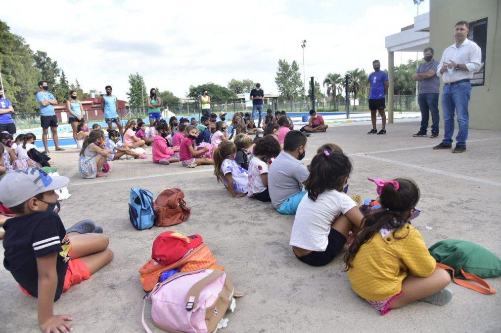 Más de 300 chicos concurrieron a las escuelas municipales de verano