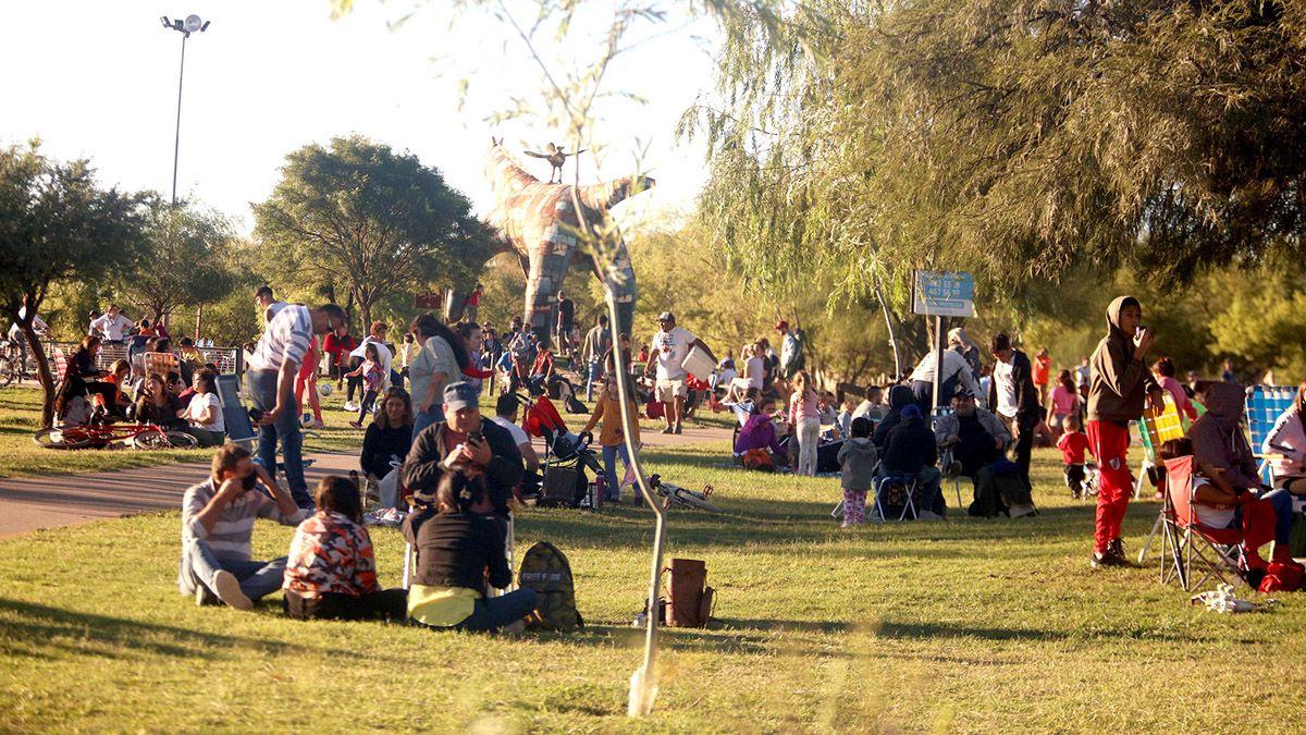 El parque del Centro Cívico