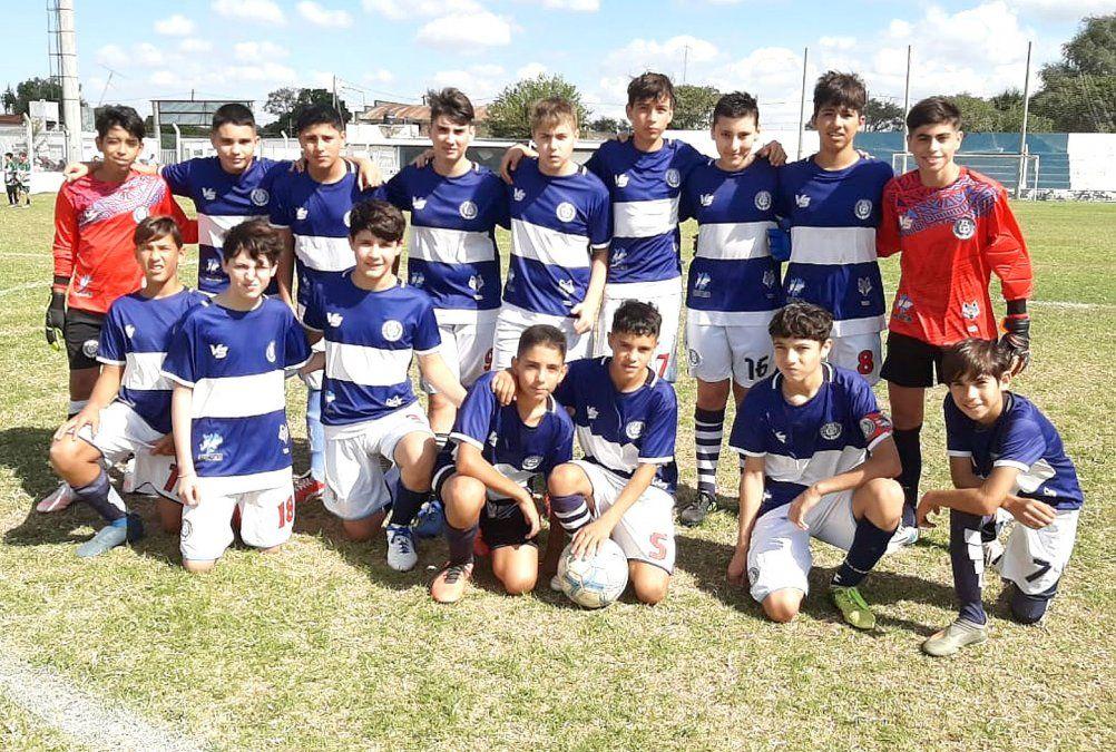 La séptima división (categoría 2007) de Argentino revirtió el marcador y se impuso 3-1 a Rivadavia.