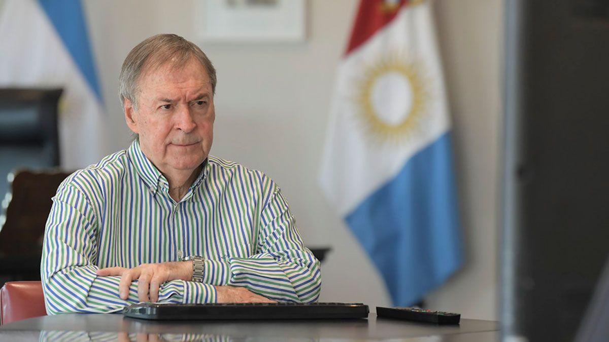 El gobernador Schiaretti envió sus condolencias a la familia de Meoni.