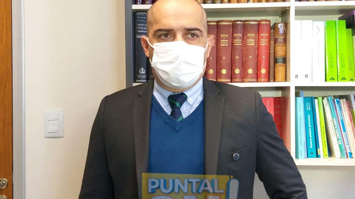 El fiscal Pablo Jávega investiga la causa por el faltante de una vacuna.