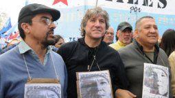 Bajo la consigna Una Navidad sin presos políticos, convocaron a una marcha hoy para exigir la liberación de figuras como Milagro Sala, Amado Boudou, Julio de Vido, Luis D´Elia y Fernando Esteche.